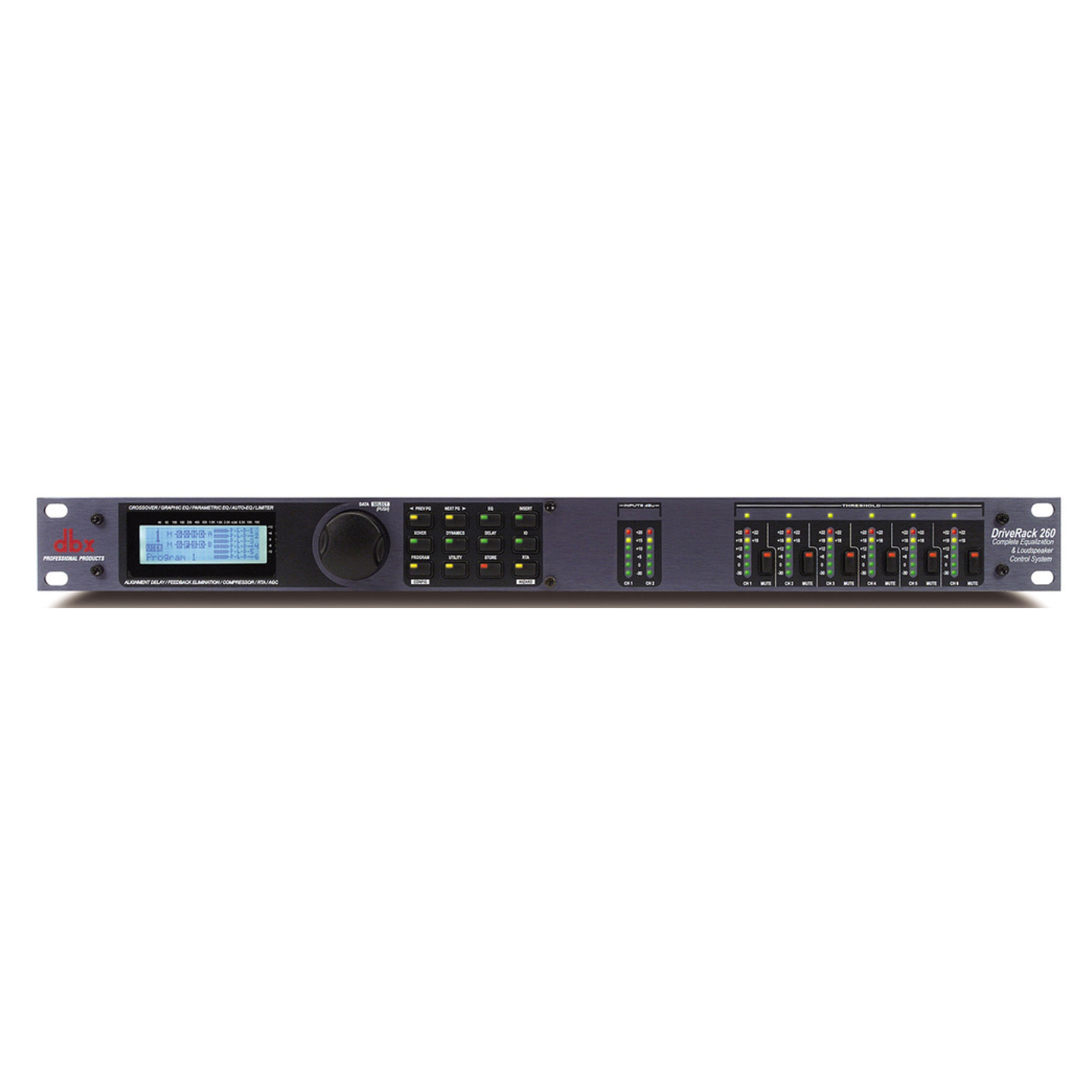 dbx DriveRack 260 - Front