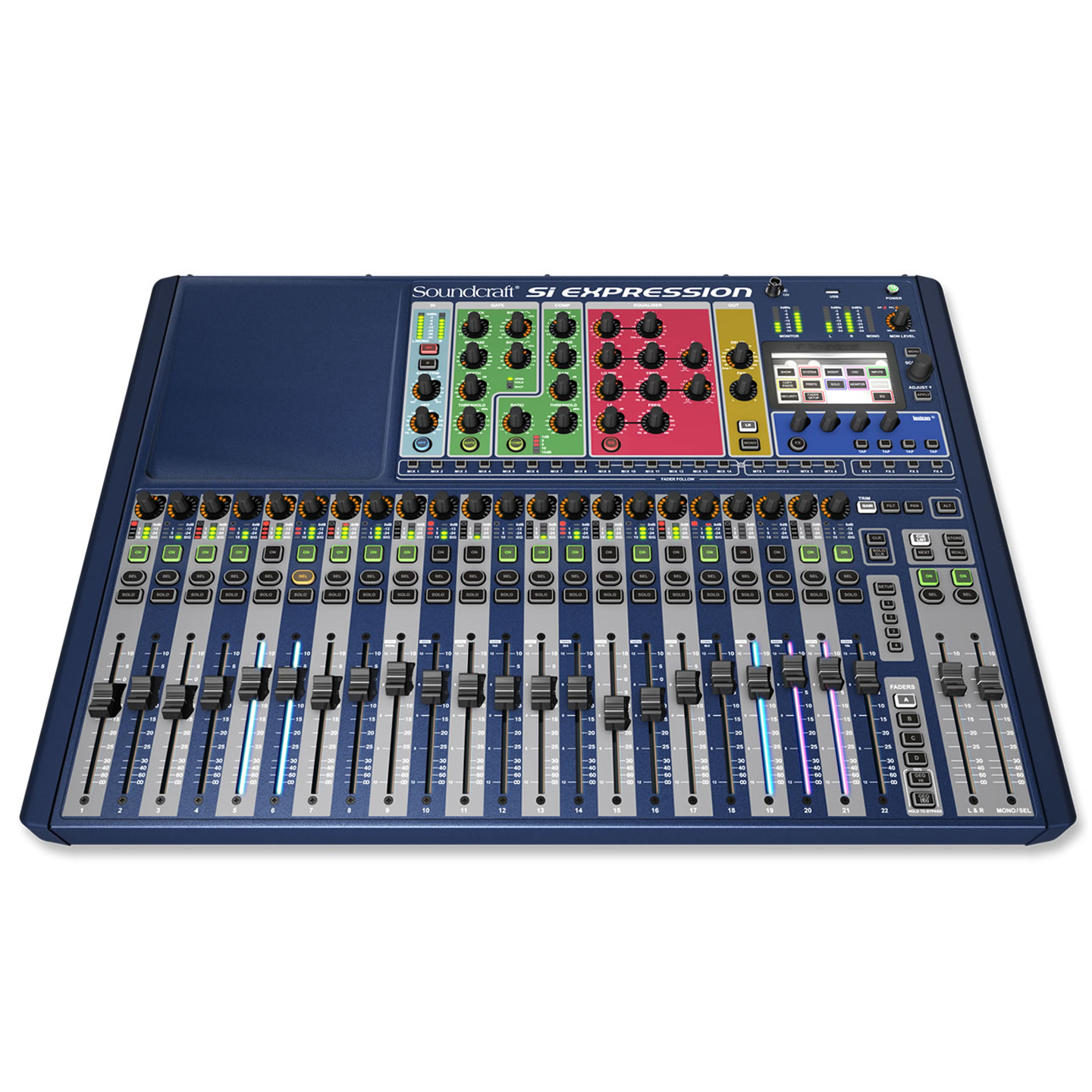 Soundcraft SI Expression 2 - Top
