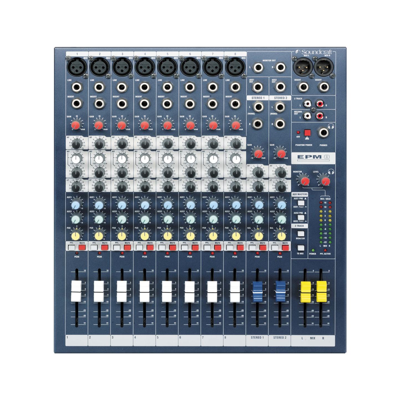 Soundcraft EPM8 - Top