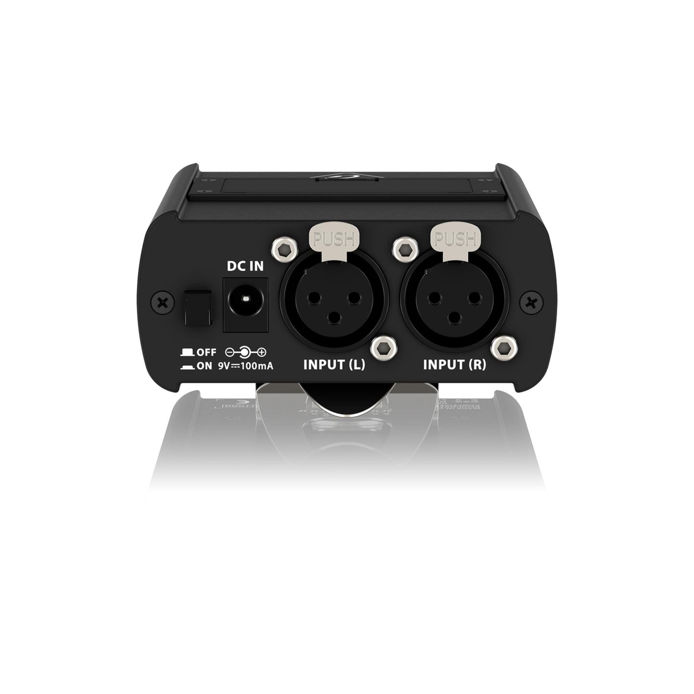Behringer P1 Headphone Amplifier - Bottom