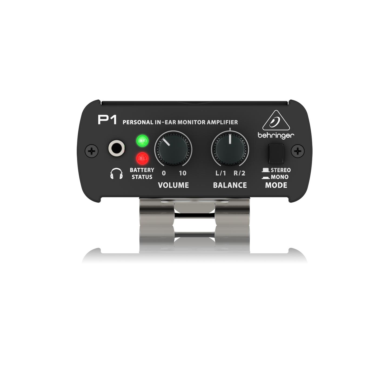 Behringer P1 Headphone Amplifier - Top