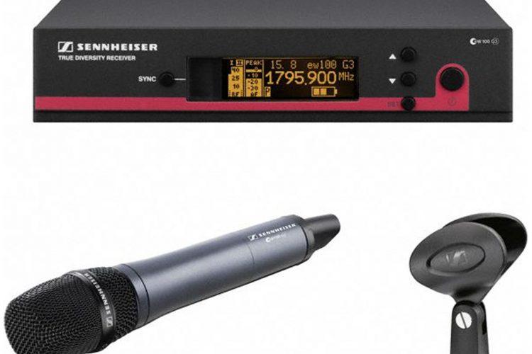 Sennheiser EW100 - Handheld